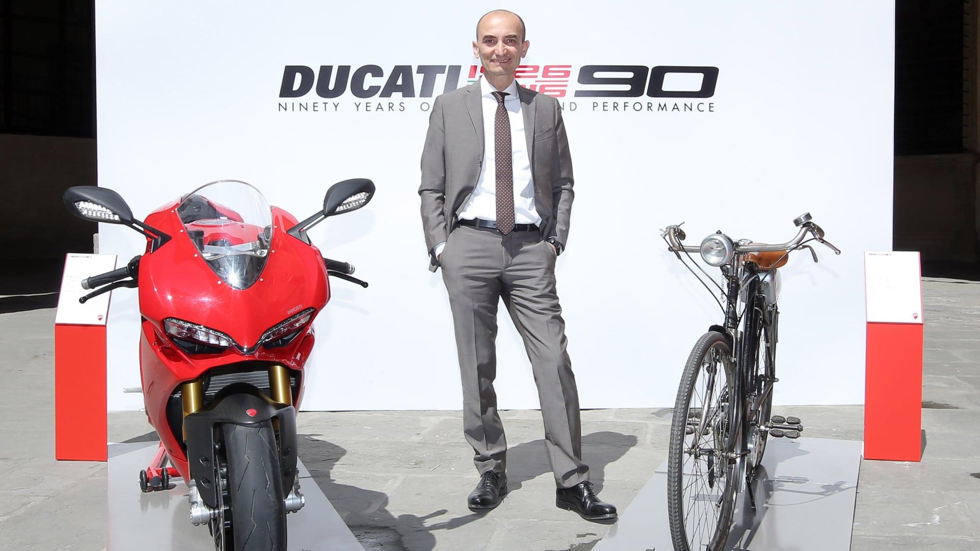 Ducati 90th anniversary press conference