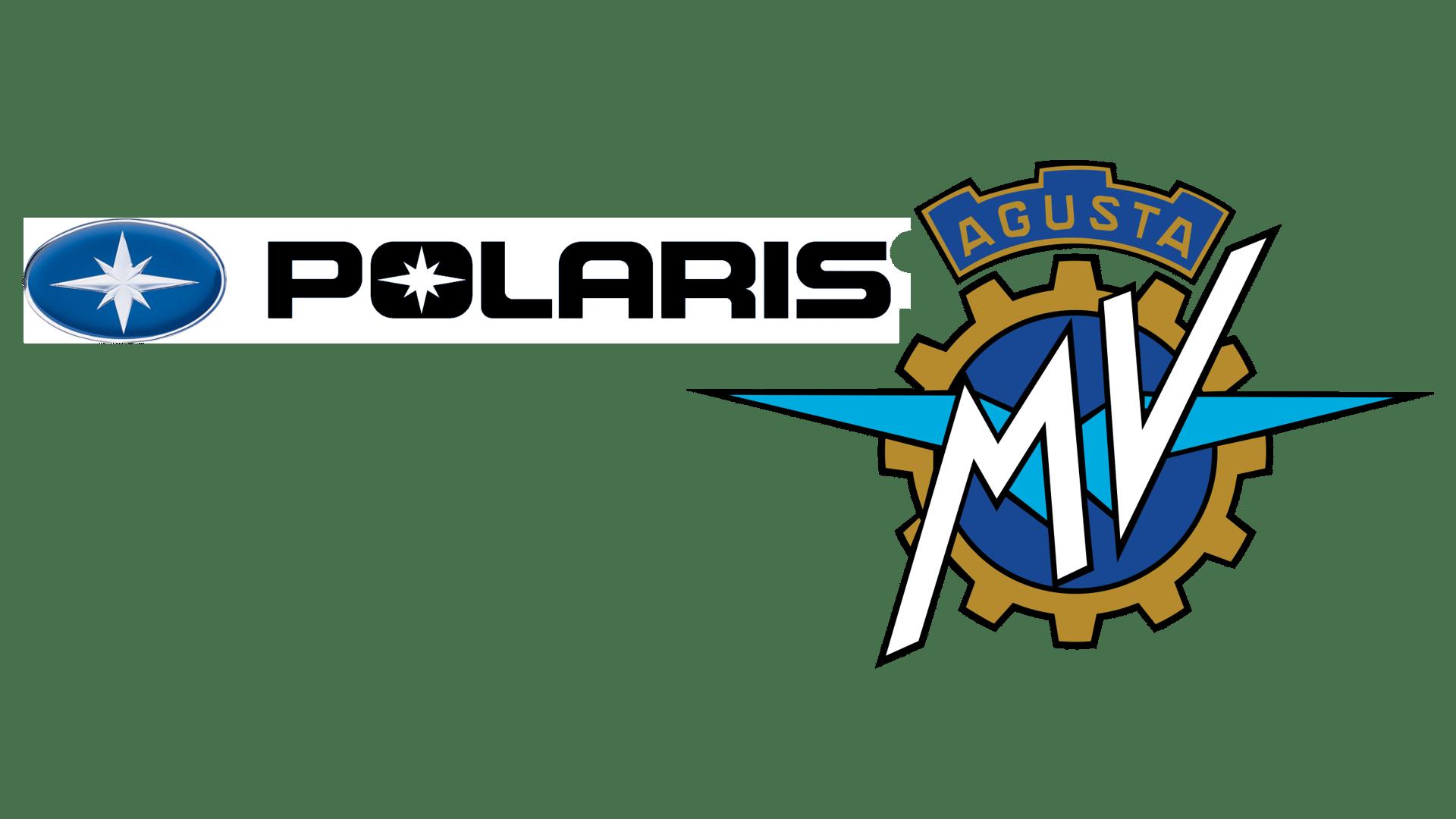Polaris & MV Agusta logos