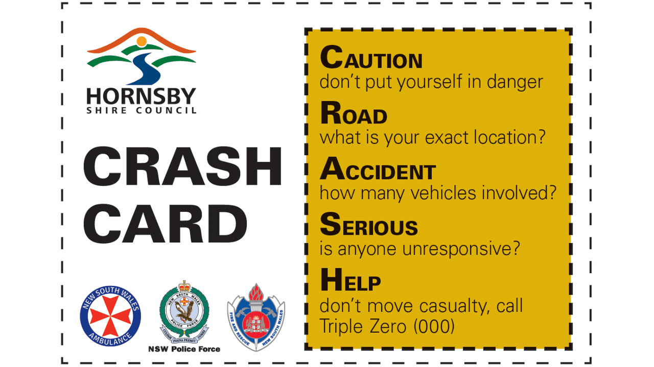 CRASH Card Front