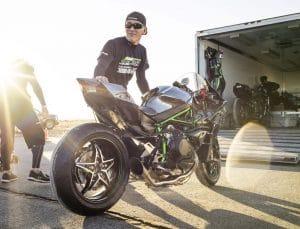 Team 38 Ninja H2R at Mojave
