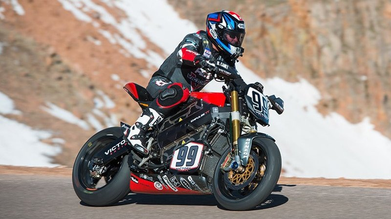 Victory Empulse RR at Pikes Peak