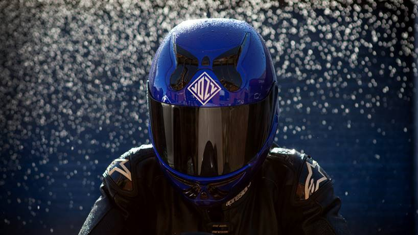Vozz Helmets has refined the design of its revolutionary helmet, and new shipments are expected in October.