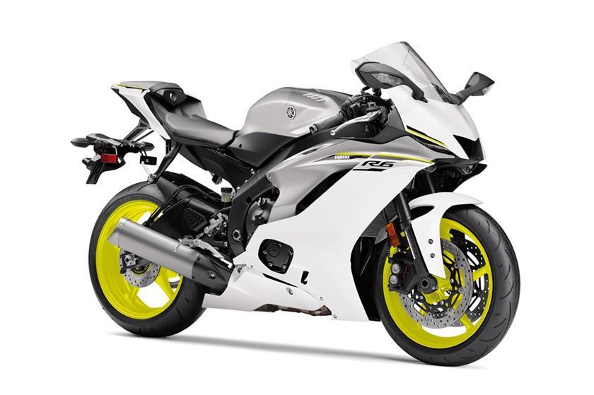 2017 Yamaha YZF-R6 White