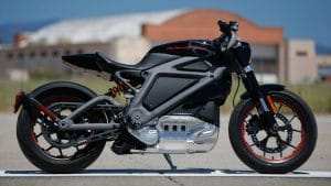 Harley-Davidson's electric LiveWire.