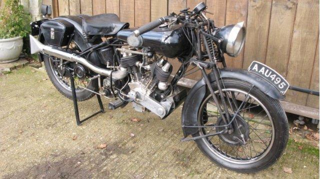 1934 Brough Superior 680 Junior