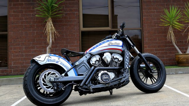 2017 Indian Scout Custom Wall of Death