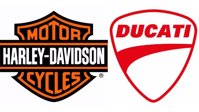 Harley-Davidson and Ducati logos
