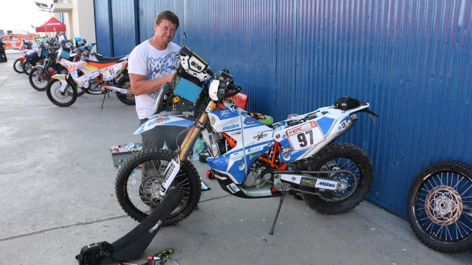 Scott Britnell Dakar final preparation