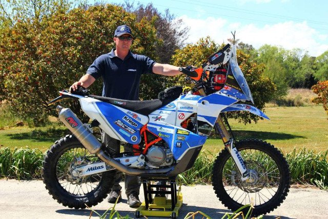 Scott Britnell's KTM 450RR