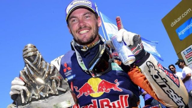 Toby Price Dakar win