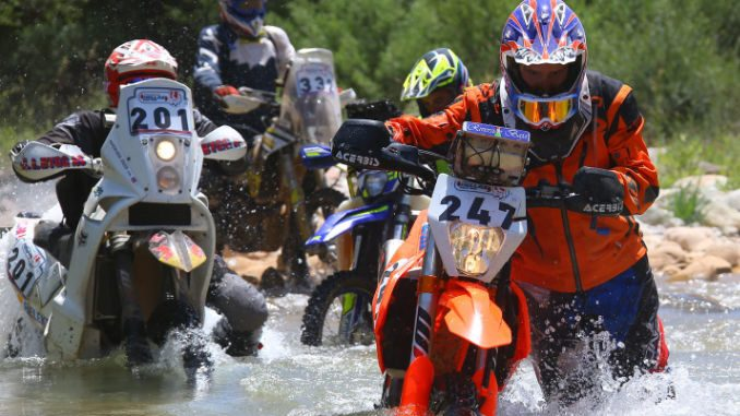 Hellas Rally 2018 day 3 river crossing